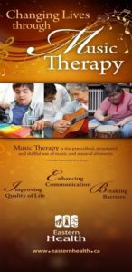music therapy poster