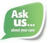 Ask us about your care